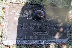 Naomi G. <i>Zugg</i> Cole