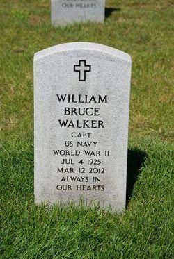 Capt William Bruce Walker