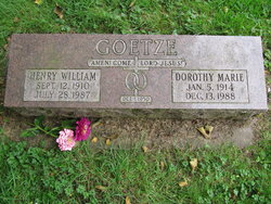 Henry W Goetze