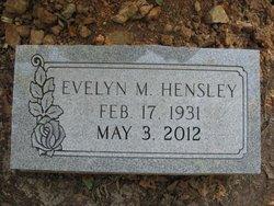Evelyn Mary <i>Pittaway</i> Hensley
