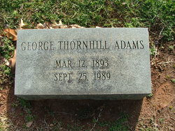 George Thornhill Adams