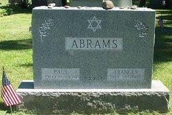Frances Fran <i>Greenberg</i> Abrams