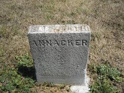 Elizabeth Sophia <i>Lahmberg</i> Annacker