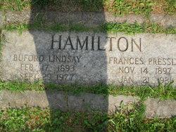 Rev Buford Lindsay Hamilton