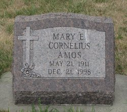 Mary Eva <i>Cornelius</i> Amos