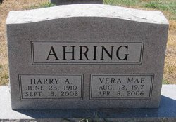 Harry A Ahring
