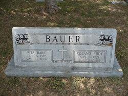 Rita Velva Babe <i>Daniels</i> Bauer