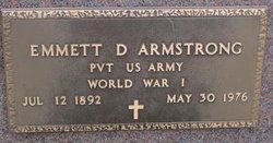 Emmett Deuel Armstrong