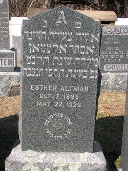 Esther Altman