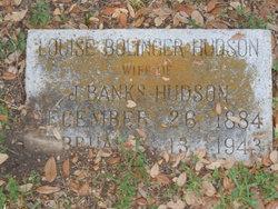 Louise <i>Bolinger</i> Hudson
