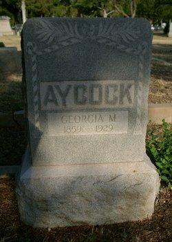 Georgiana Georgia <i>McLemore</i> Aycock