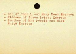 John Budington Emerson