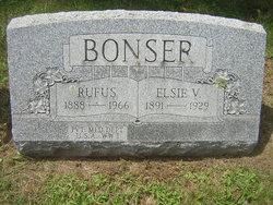 Elsie V <i>Buck</i> Bonser