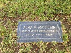 Alma M Anderson