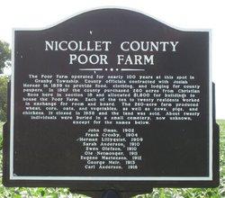 Nicollet County Poor Farm Cemetery