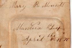 Mary Rebecca <i>Mounts</i> Gill