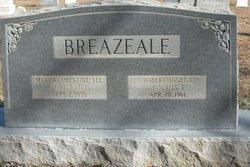 Mary Clementine <i>Lee</i> Breazeale