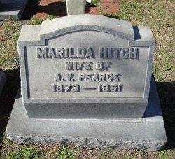 Marilda <i>Hitch</i> Pearce