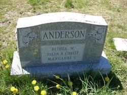 Betha W Anderson