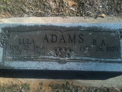 B. A. Adams