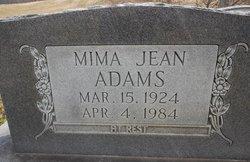 Mima Jean <i>Clark</i> Adams