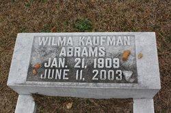 Wilma <i>Kauffman</i> Abrams