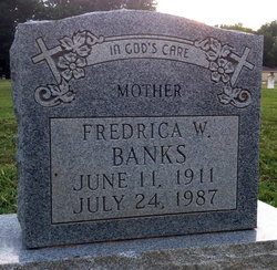 Fredrica <i>Wade</i> Banks
