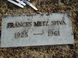 Elizabeth Frances Frank <i>Metts</i> Spiva
