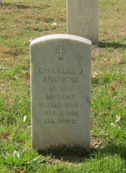 Charles J Browne