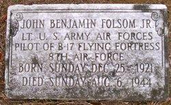 Lieut John Benjamin Benny Folsom, Jr