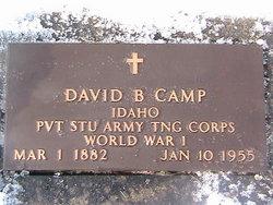 David Bukofzer Camp