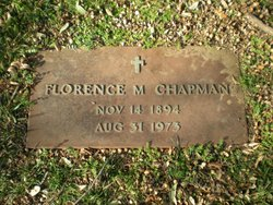 Florence Marie <i>Schenewerk</i> Chapman