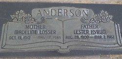 Madeline <i>Losser</i> Anderson