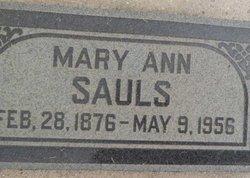 Mary Ann <i>Terry</i> Sauls