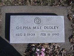 Orpha Mae <i>Johnson</i> Dudley