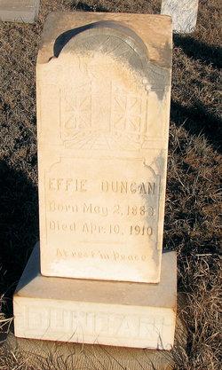 Effie Duncan