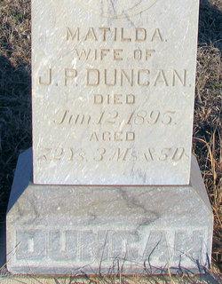 Matilda <i>Mounts</i> Duncan