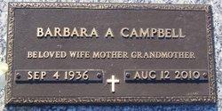 Barbara A. <i>Ford</i> Campbell