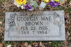 Georgia Mae <i>Cornett</i> Brown