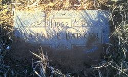 Sarah Elizabeth <i>Williams</i> Barker