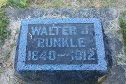Walter John Runkle