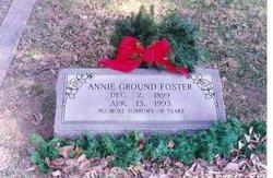 Annie <i>Ground</i> Foster