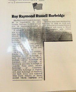 Roy Raymond Russell Burbridge