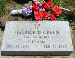 Maurice D Green