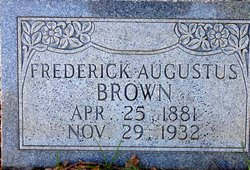 Frederick Augus Brown