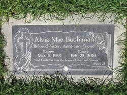 Alvia Mae Buchanan