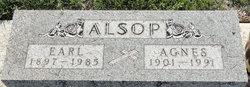 Agnes Minnie <i>Harber</i> Alsop