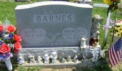 Francis L Barnes, I