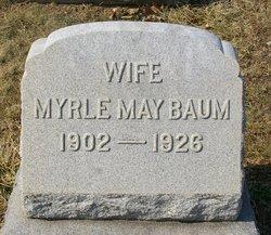 Myrle May <i>Hocker</i> Baum