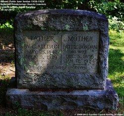 Martha Henry Pattie Jane <i>Jordan</i> Allison